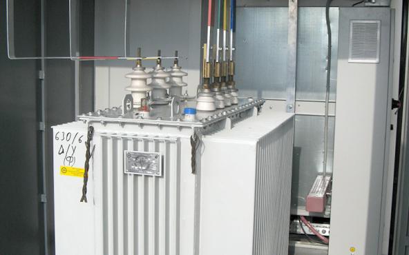 Силовой трансформатор в КТП
