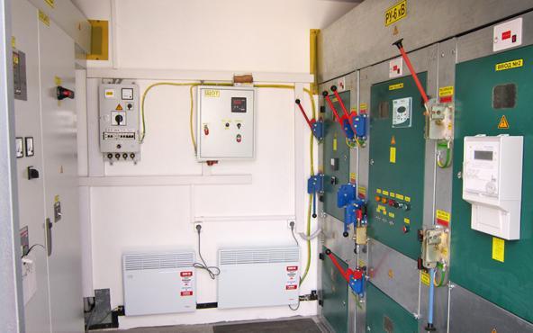 Оборудование для приема, контроля и распределения электроэнергии