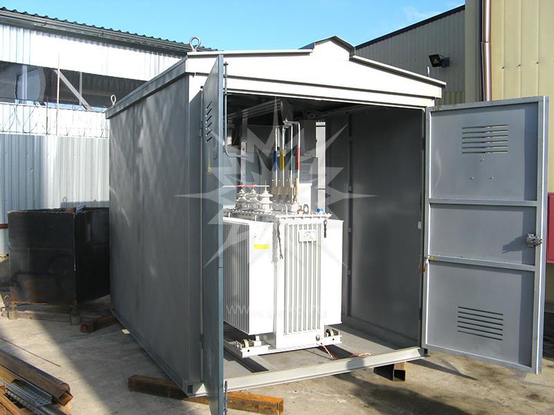 установка оборудования для комплектных трансформаторных подстанций киоскового типа